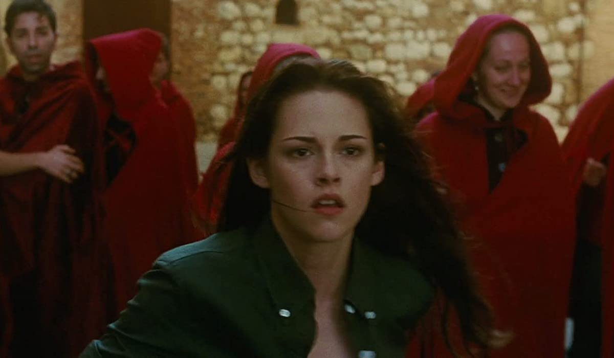 Kristen Stewart in Italy in New Moon