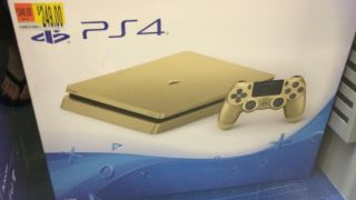 Gold 1TB PS4 slim spotted at Walmart and at a lower price
