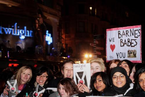 Twilight Premiere, Leicester Square, London