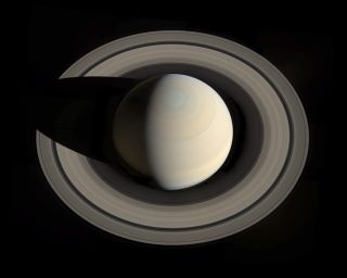 Saturn and Rings Mosaic by Ugarkovic