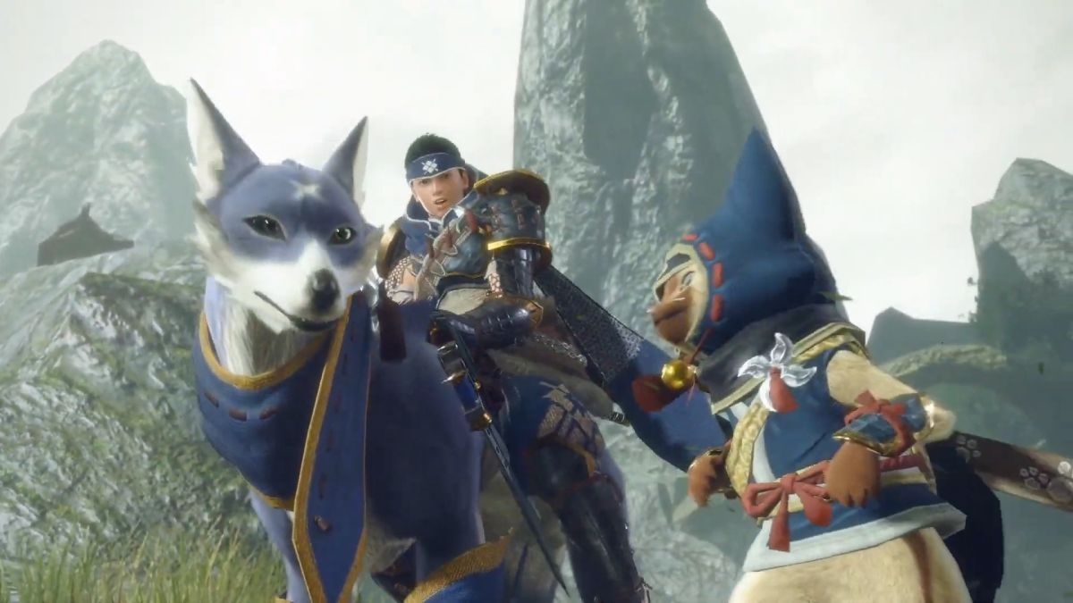Monster Hunter Rise Switch release confirmed for March 2021, and it's got  big dog friends   GamesRadar+
