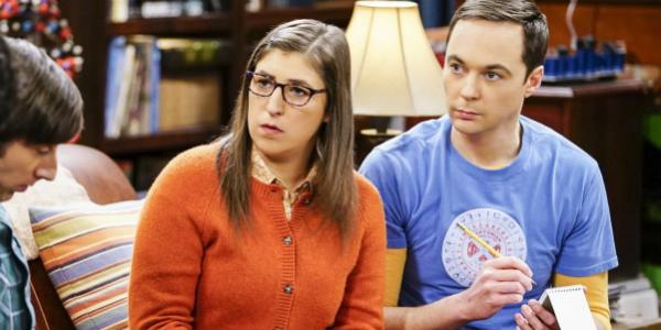 Big Bang Theory Amy Sheldon Mayim Bialik Jim Parsons