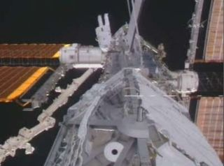 ISS Construction: Spacewalkers Add New Piece to Space Station