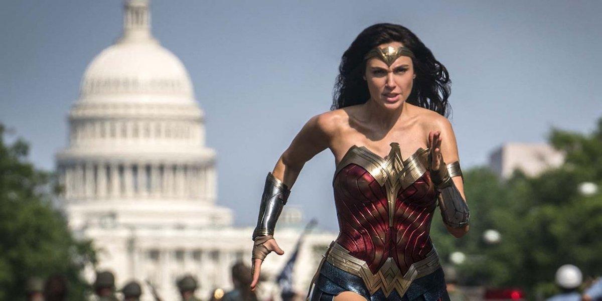Wonder Woman 1984 Diana running in DC