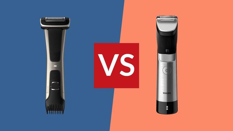 beard trimmer vs body groomer
