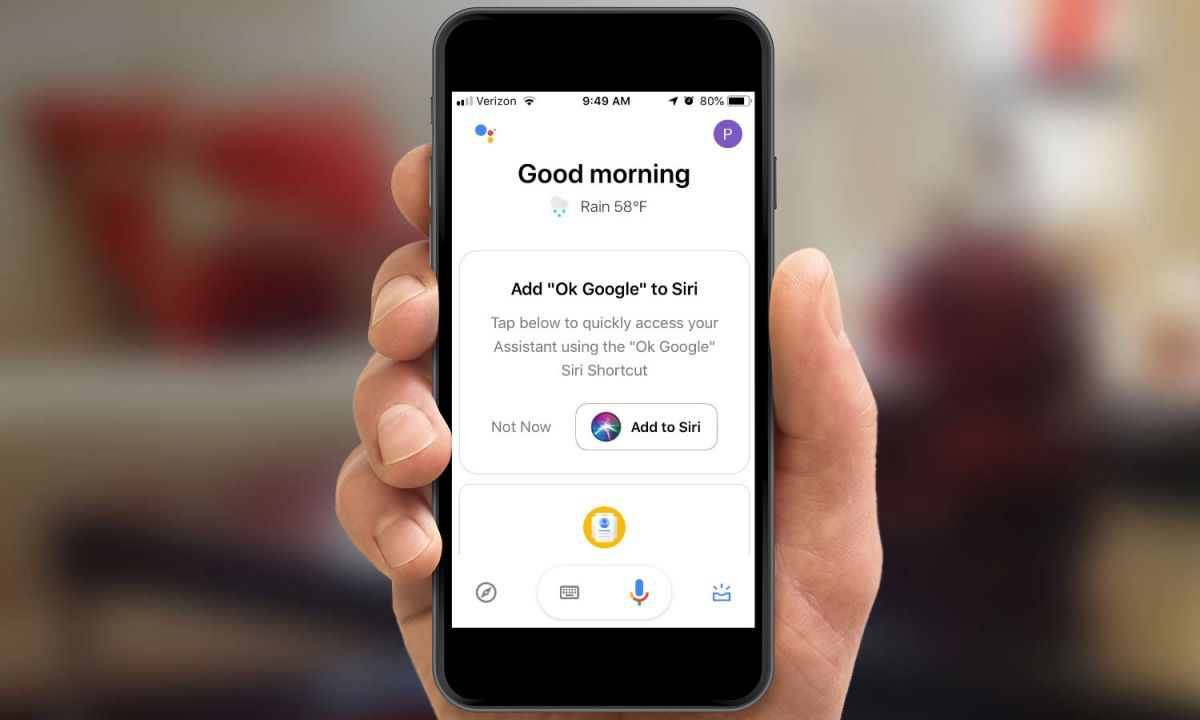 Google Assistant iOS Update Lets You Launch