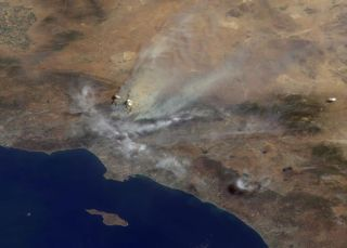 Wildfire Threatens Historic Observatory Used by Edwin Hubble