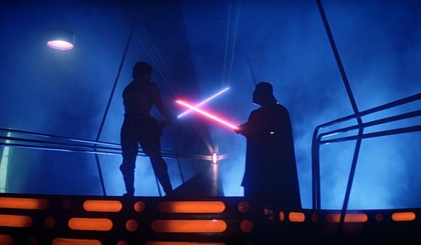 empire strikes back luke vader duel