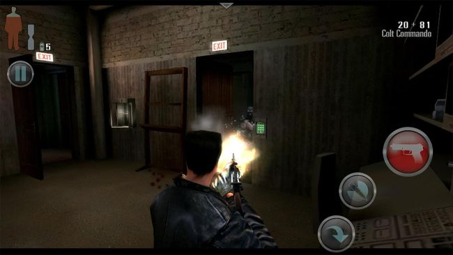 Max Payne - Best console games you can play on a phone or tablet