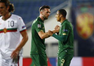 Bulgaria Ireland Nations League Soccer