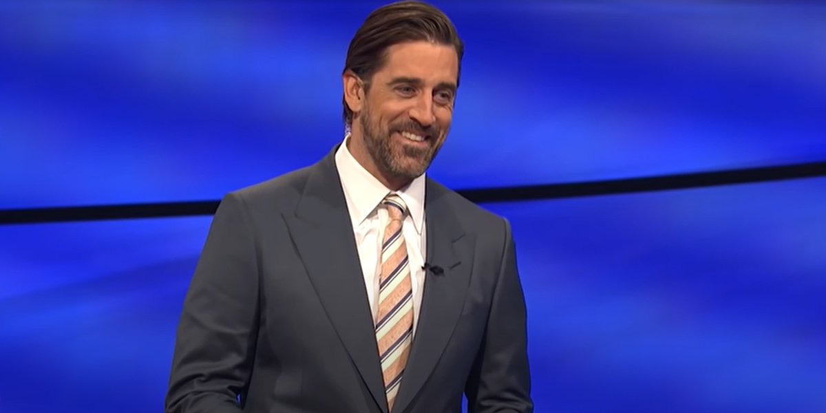 NFL star Aaron Rodgers guest hosting on Jeopardy!