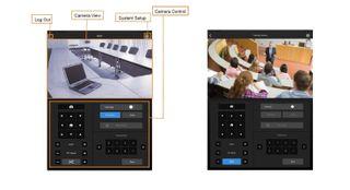 AVer iPad control for PTZ cameras
