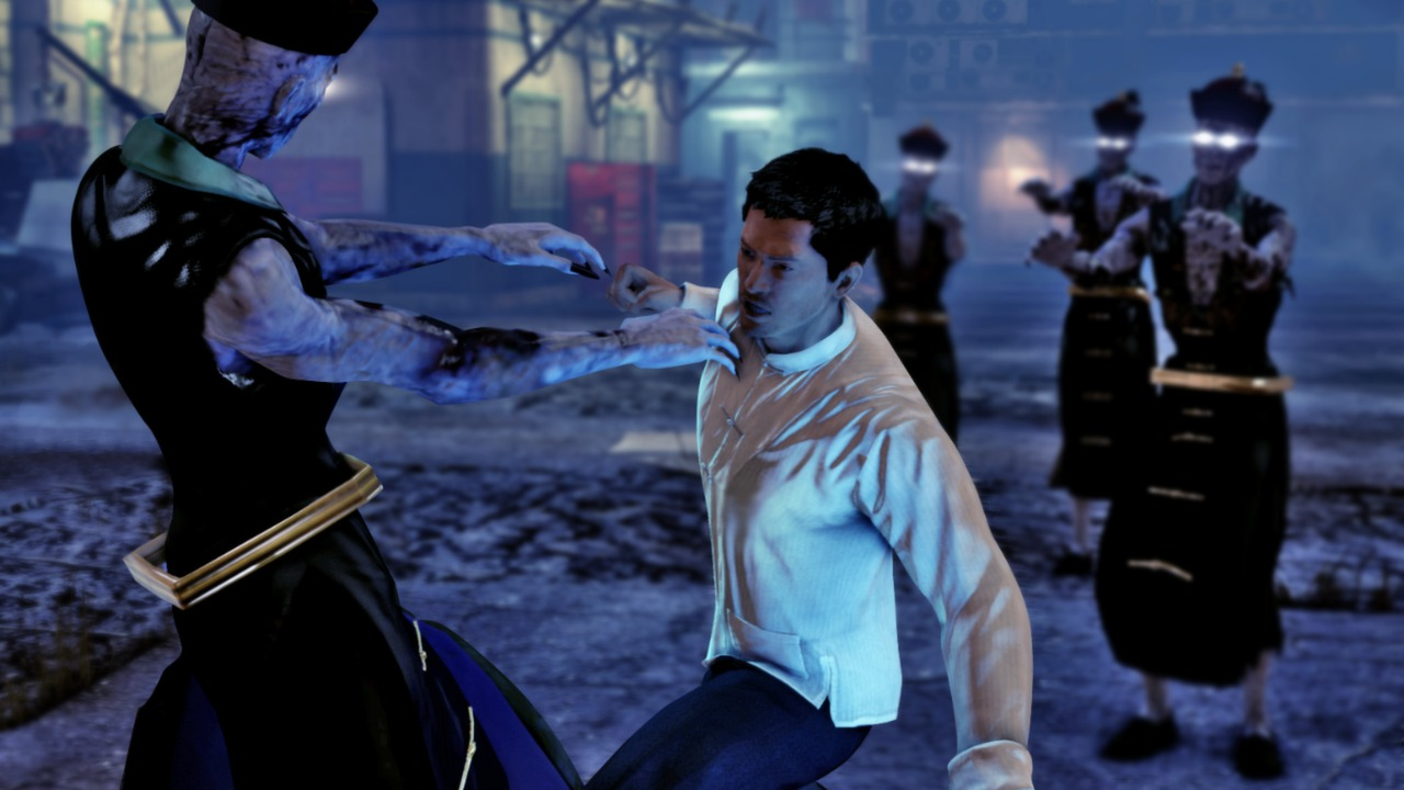 Punching jiangshi in the Nightmare in North Point DLC