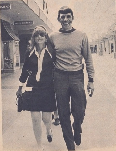 Nimoy and Wife