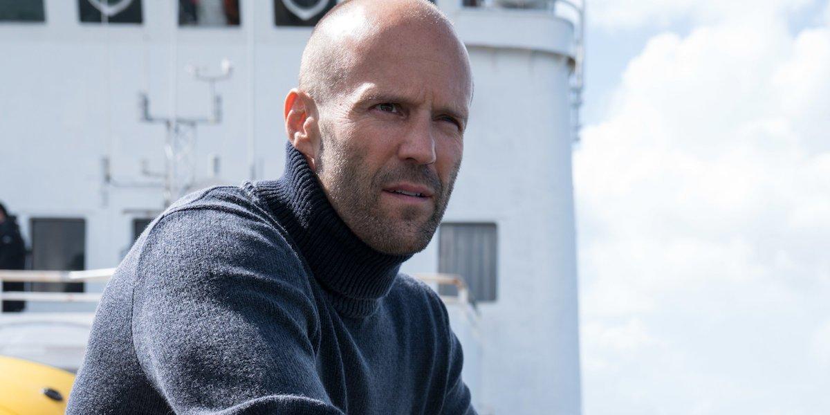 Jason Statham as Jonas Taylor in The Meg