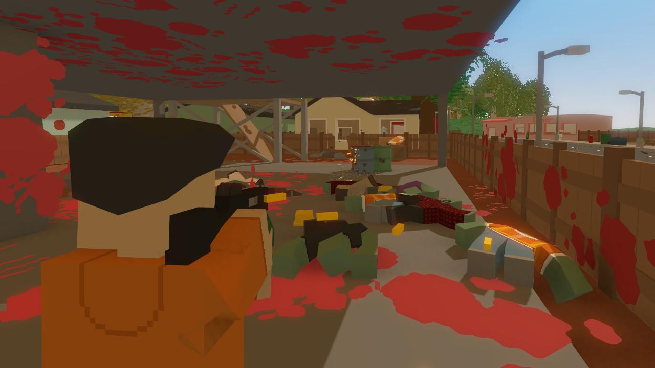 unturned inside the popular free survival sim pc gamer