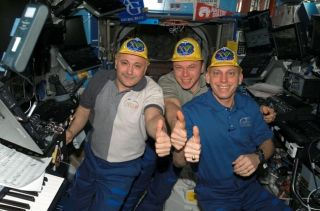 Space Station Astronauts Prepare for Crew Swap