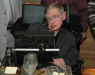 Stephen Hawking in 2006.