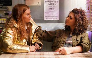 EastEnders Evie is impressed by Tiffany.