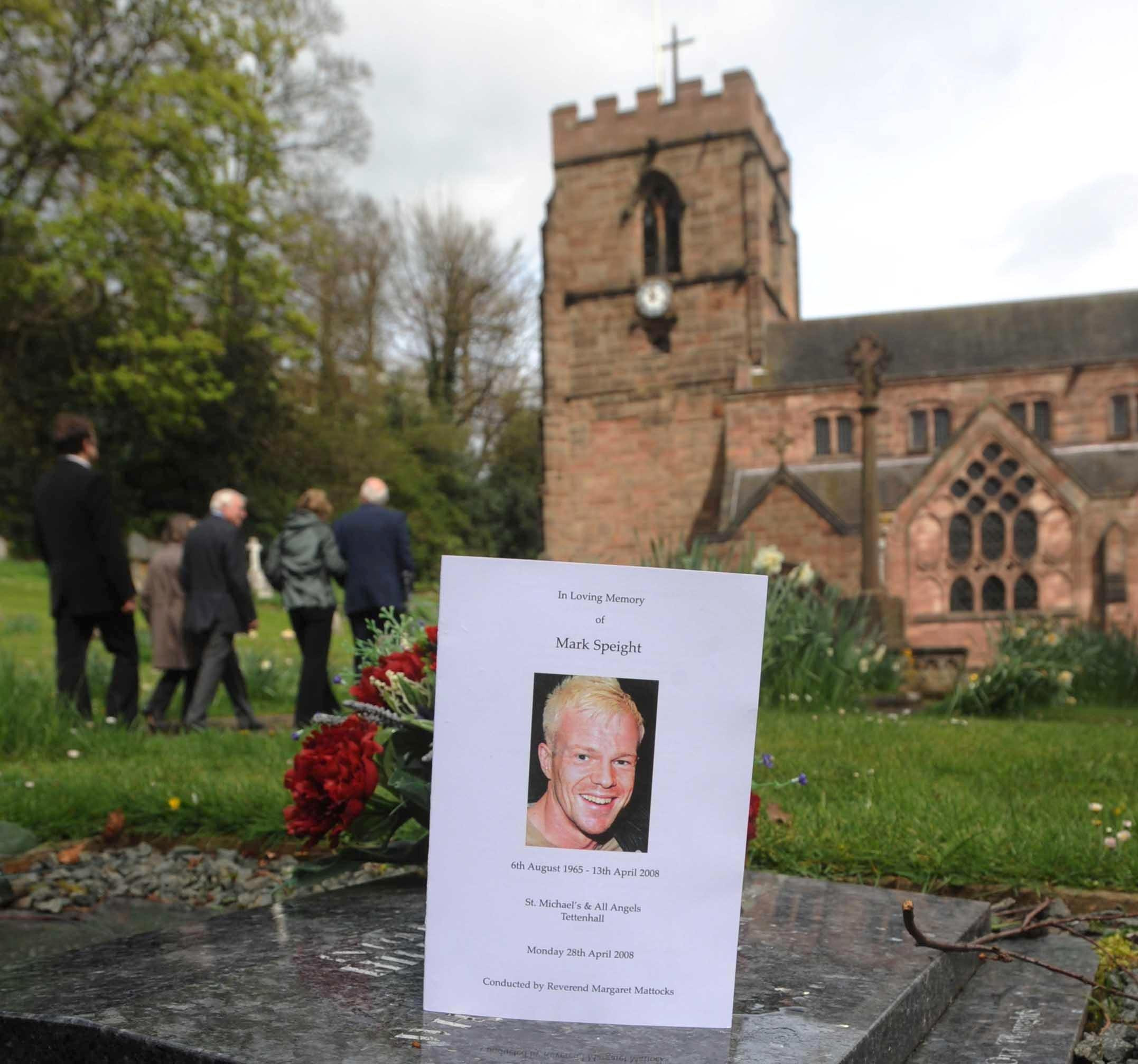 Oliver Speight's emotional tribute to son Mark