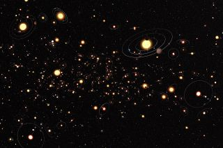 Alien Planets Milky Way