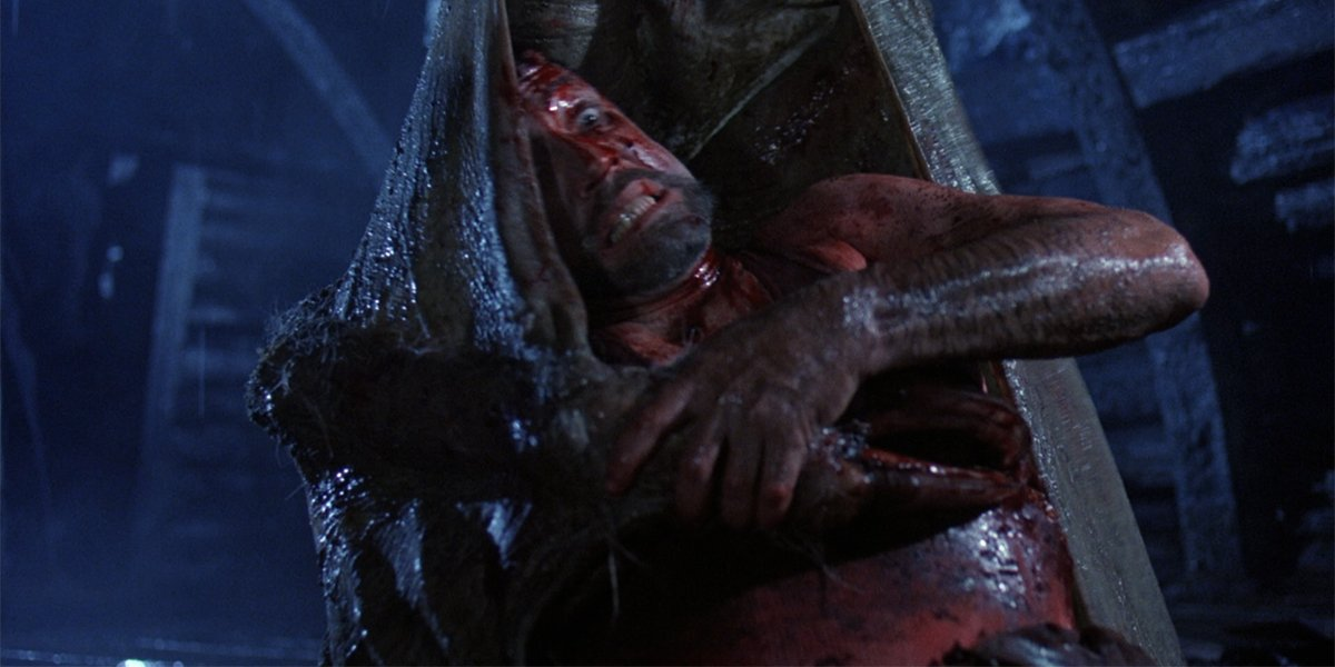 Graveyard Shift Warwick battles the bat monster