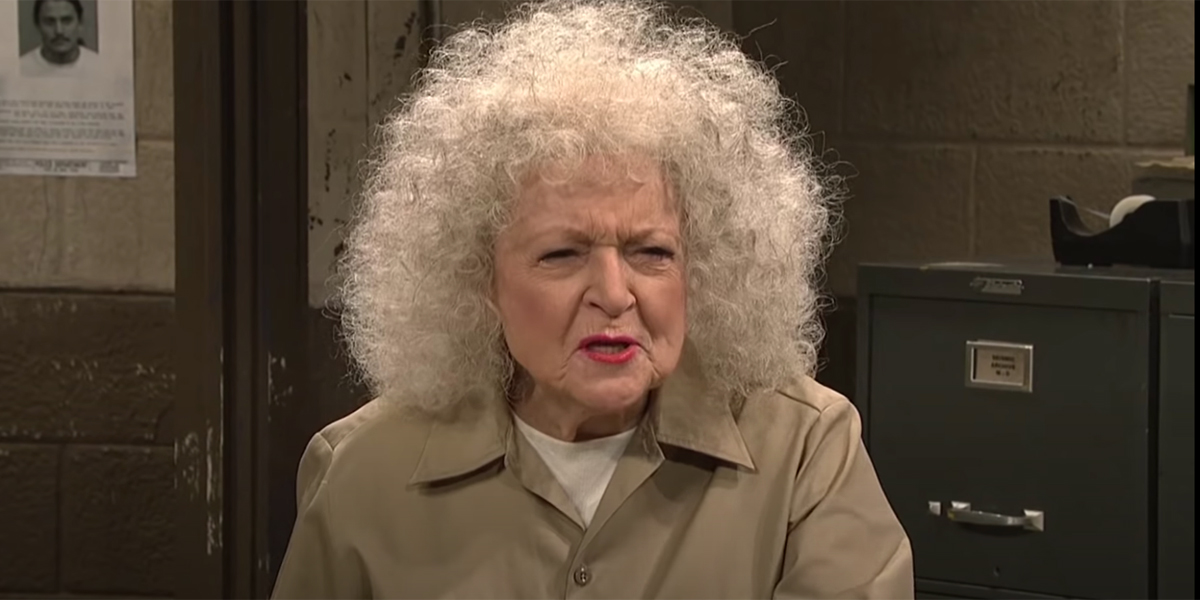 Betty White doing SNL 10 Years ago