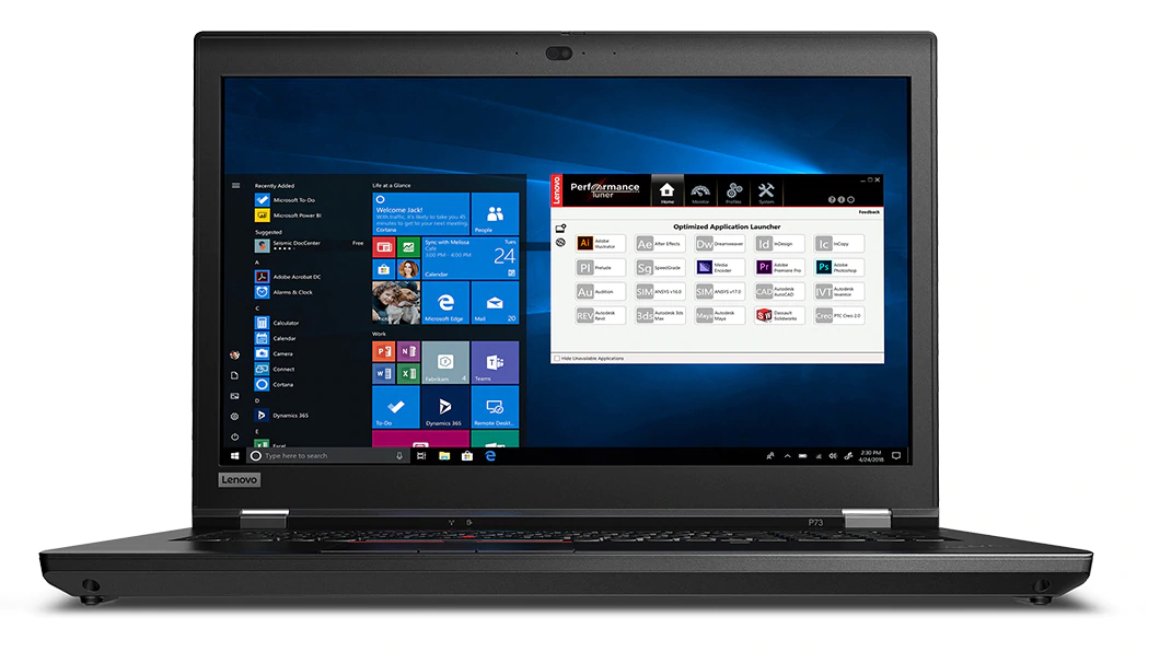 Best 17-inch laptop: Lenovo ThinkPad P73