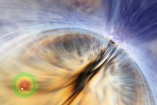 massive black hole event horizone