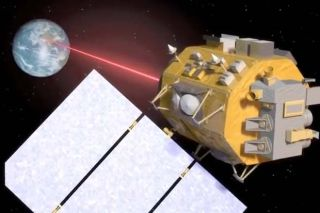 spacecraft lasers