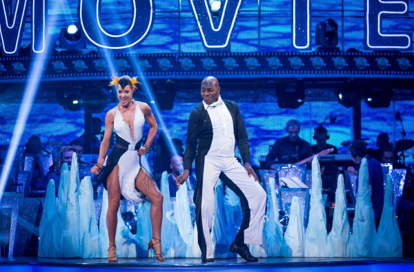 Ainsley Harriott and Natalie Lowe