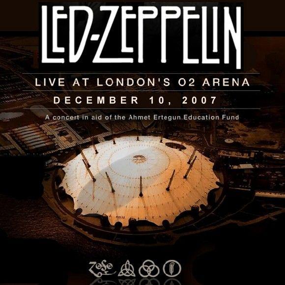 led zeppelin 39 s 2007 reunion concert raises millions for oxford university guitarworld. Black Bedroom Furniture Sets. Home Design Ideas