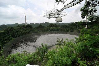 Arecibo Observatory damaged, hurricane maria