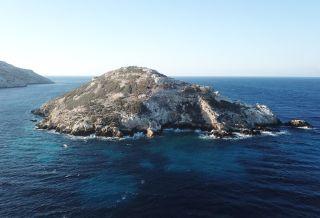 Dhaskalio island settlement.