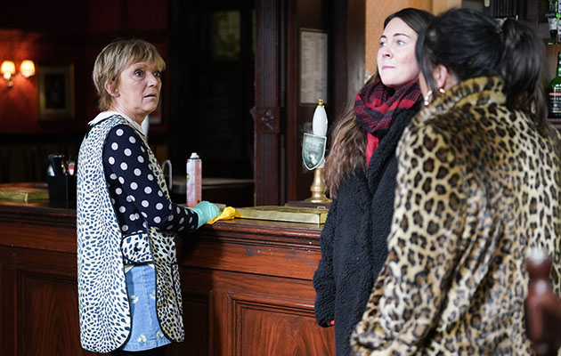 EastEnders Stacey Fowler and Jean Slater