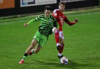 Forest Green Rovers v Swindon Town – Papa John's Trophy – Southern Group E – The New Lawn