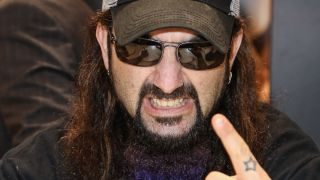A photograph of Mike Portnoy