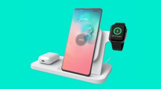 Logitech Powered 3-in-1 dock charges iPhone, AirPods, Apple Watch and any Qi device