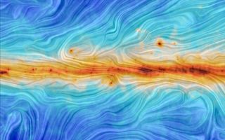 Interstellar Dust on the Galaxy's Magnetic Field