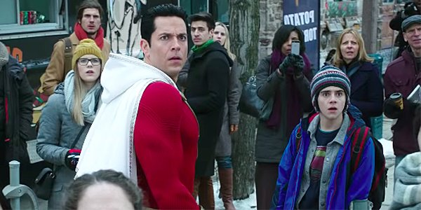 Shazam! Zachary Levi and Jack Dylan Grazer DC Warner Bros.