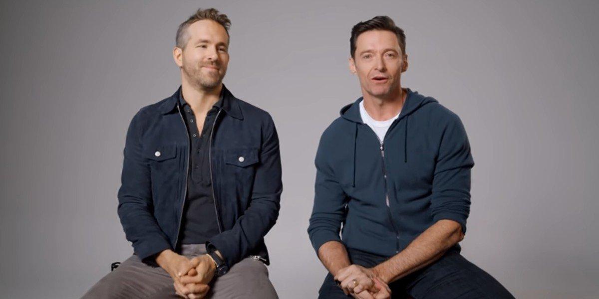 Hugh Jackman And Ryan Reynolds Paused Their 'Feud' To Bring Joy To A Kid At School Pickup