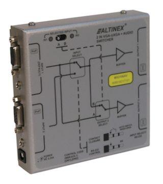 Altinex Releases MX2106AV VGA Auto + Audio Switcher