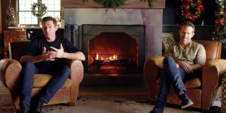 Hugh Jackman and Ryan Reynolds pitching The Feud