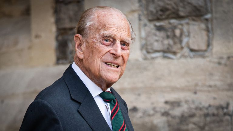Prince Philip, Duke of Edinburgh during the transfer of the Colonel-in-Chief of The Rifles at Windsor Castle on July 22, 2020 in Windsor, England