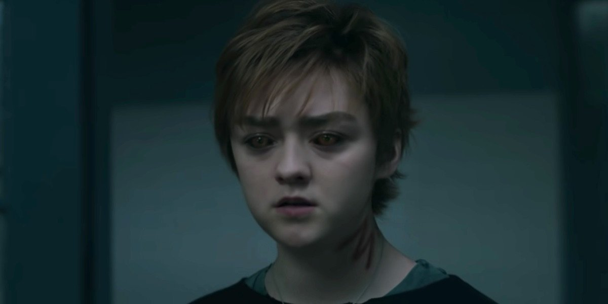 Maisie Williams in The New Mutants