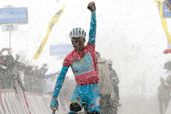 Vincenzo Nibali wins stage 20, Giro d'Italia 2013