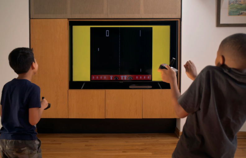 The Atari VCS system.