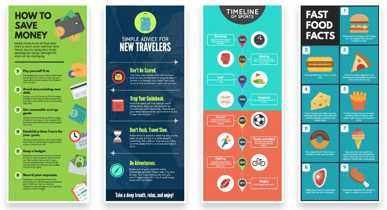Infographics tools: Snappa