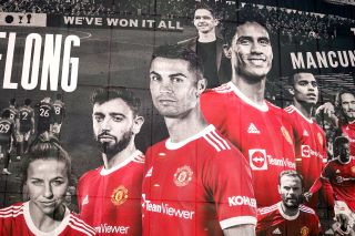 Manchester United Player Mural – Old Trafford