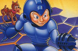 The cover art for Mega Man's PC port